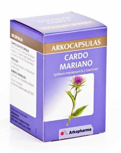 Arkocapsulas cardo mariano 100