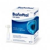 Bañoftal ojo seco (30 monodosis 0,5 ml)