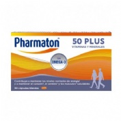 Pharmaton 50 plus (30 capsulas)