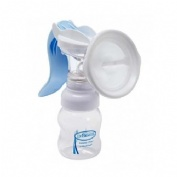 Extractor de leche manual y biberon - dr brawn`s