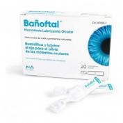 Bañoftal gotas oftalmicas (20 monodosis 0,4 ml)